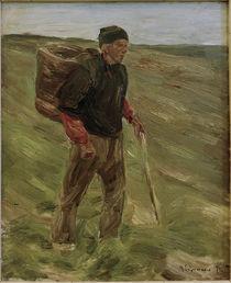 M.Liebermann, Studie zum Bauer m.Kiepe von AKG  Images