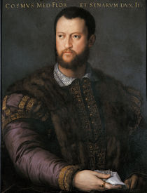 Cosimo I. de' Medici / Bronzino by AKG  Images