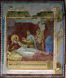 Giotto, Esau vor Isaak by AKG  Images