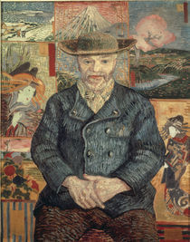 Van Gogh/Bildnis Pere Tanguy/Herbst 1887 by AKG  Images