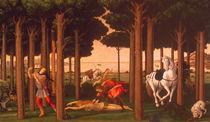 Botticelli, Geschichte des Nastagio II. by AKG  Images
