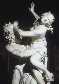 G.L.Bernini, Raub der Proserpina, Auss. by AKG  Images