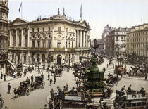 London, Piccadilly Circus / Photochrom by AKG  Images