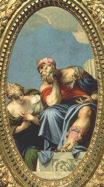 Veronese, Jugend und Alter (Saturn) von AKG  Images