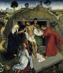 Rogier v.d.Weyden, Beweinung Christi von AKG  Images