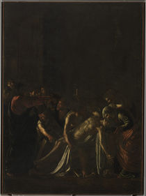 Caravaggio, Auferweckung des Lazarus von AKG  Images