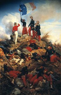 Erstuermung Malakoff 1855 / Gem.v.Vernet von AKG  Images