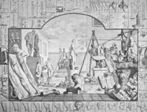 W.Hogarth, Analysis of Beauty, Statuenh. by AKG  Images