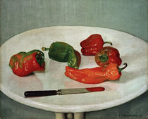 F.Vallotton, Rote Pfefferfruechte by AKG  Images