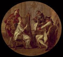 J.H.Fragonard zugeschr., Quartett von AKG  Images