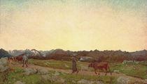 G.Segantini,Natur (Alpen Triptychon) by AKG  Images
