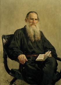 Leo Tolstoi / Gem.v. I.J.Repin von AKG  Images