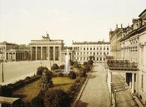 Berlin, Brandbg.Tor, Photochrom 1895 by AKG  Images