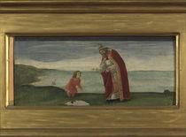 S.Botticelli, Augustinus und der Knabe by AKG  Images