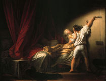 Fragonard, Le verrou by AKG  Images