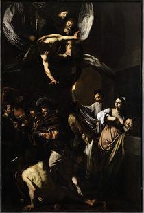 Caravaggio, Werke der Barmherzigk. by AKG  Images