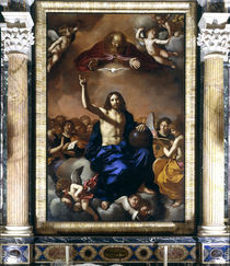 Guercino, Hl.Dreifaltigkeit von AKG  Images