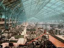Paris, Weltausst.1889 / Maschinenhalle by AKG  Images