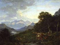 L.Richter, Salzburgische Landschaft/1830 by AKG  Images