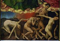 R.van der Weyden, Hoellensturz by AKG  Images