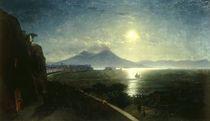 Neapel mit Vesuv/ Gem.v.Aiwasowski von AKG  Images