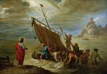 D.Teniers d.J., Der wunderbare Fischzug by AKG  Images
