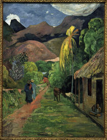 P.Gauguin, Strasse ins Gebirge by AKG  Images