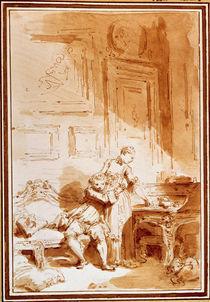 J.H.Fragonard, A femme avare by AKG  Images