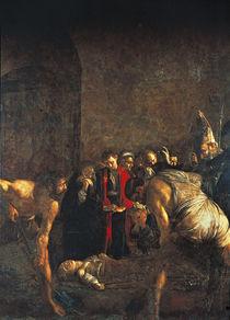 Caravaggio, Begraebnis Hl.Lucia by AKG  Images