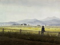 C.D.Friedrich, Schmiedeberger Kamm/1837 by AKG  Images