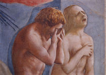 Masaccio, Vertreibung aus Paradis, Auss. von AKG  Images