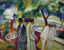 August Macke, Spaziergaenger 1913 by AKG  Images