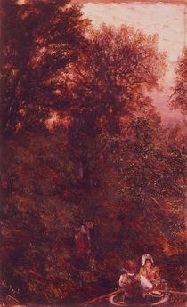 A.v.Menzel, Kahnfahrt/1892 by AKG  Images