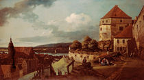 Pirna von Posta aus / Bellotto by AKG  Images