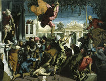 Tintoretto,  Wunder des Hlg.Markus by AKG  Images