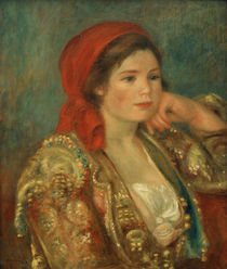 A.Renoir, Maedchen mit spanischer Jacke von AKG  Images