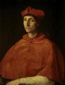 Raffael, Bildnis eines Kardinals von AKG  Images