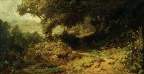 C.Spitzweg, Waldlandschaft von AKG  Images