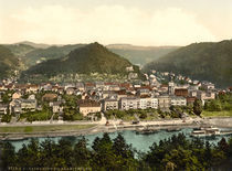 Schandau, Ansicht / Photochrom by AKG  Images