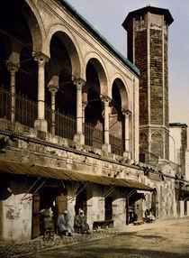Tunis, Moschee St.Catherine / Photochrom von AKG  Images
