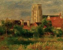 A.Renoir, Die Kirche von Essoyes by AKG  Images