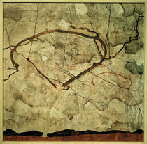 E.Schiele, Herbstbaum in bewegter Luft by AKG  Images