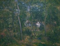 C.Pissarro, Der Wald von L'Hermitage von AKG  Images