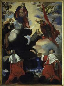 J.Tintoretto, Madonna mit Cosmas u.Dam. von AKG  Images
