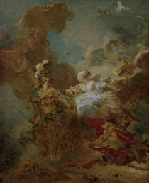 J. H.Fragonard,Venus greift in d.Kampf.. by AKG  Images