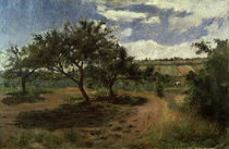 P.Gauguin, Bluehende Apfelbaeume, 1879 by AKG  Images