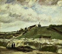 V.van Gogh, Steinbruch auf Montmartre by AKG  Images