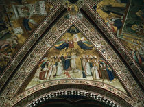 Giotto, Allegorie der Armut by AKG  Images