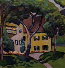 August Macke, Staudacherhaus by AKG  Images