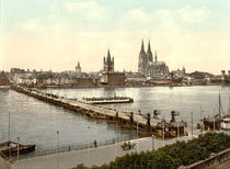 Koeln, Stadtansicht / Photochrom by AKG  Images